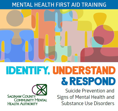 Mental Health First Aid Training - Identify, Understand & Respond - Suicide prevention and signs of mental health and substance use disorders